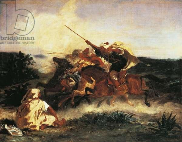 Arabian fantasy, 1833