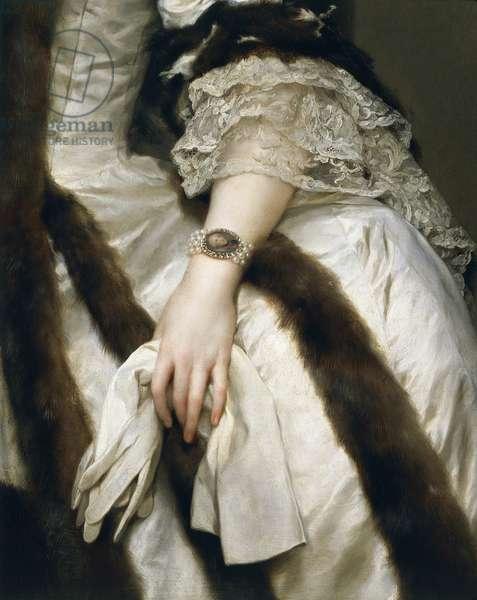 Portrait of Maria Carolina of Austria, Queen of Naples, by Anton Raphael Mengs, 1772-1773, oil on canvas, 1728-1779, 136x100 cm