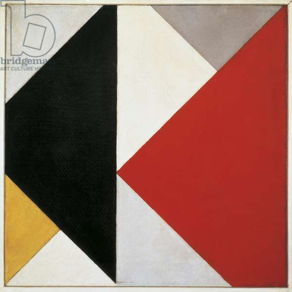 Counter-Composition, 1925-26 (oil on canvas)