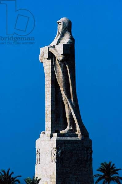 Monument to Christopher Columbus, Palos de la Frontera, Andalusia, Spain