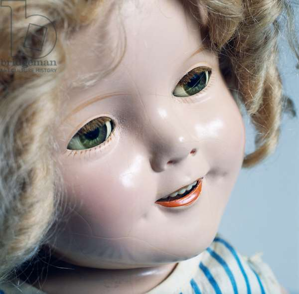 Shirley Temple doll No 18 made by Ideal Novelty and Toy, 1934, USA, 20th century, Detail