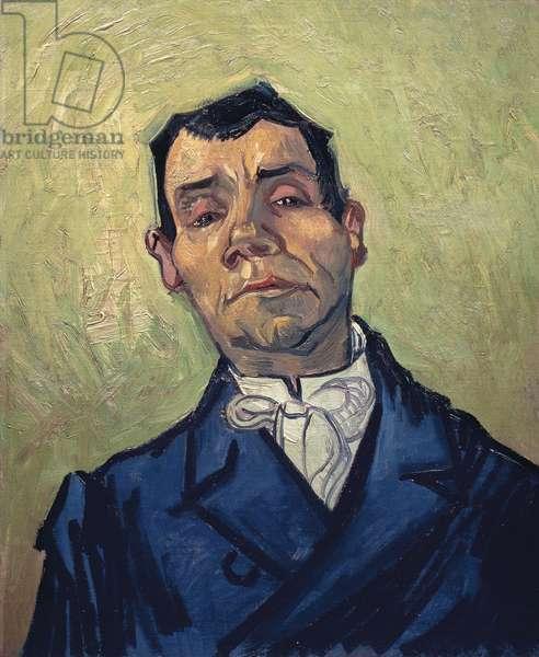 Portrait of man, by Vincent van Gogh (1853-1890)