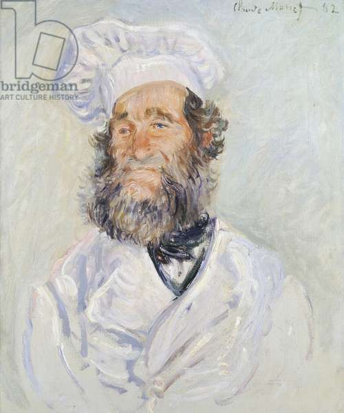 Cook, by Claude Monet (1840-1926)