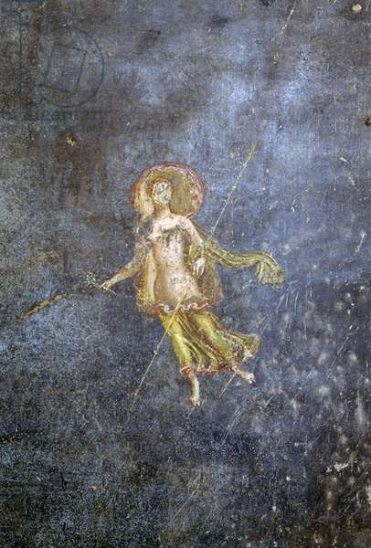 Fresco from House of Menander, Pompeii (UNESCO World Heritage List, 1997), Campania, Italy, Roman civilization, 1st century BC, Detail