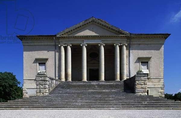 Villa Pisani Ferri, known as Rocca, or Rocca Pisana (1576), architect Vincenzo Scamozzi (1548-1616), Lonigo, Veneto, Italy