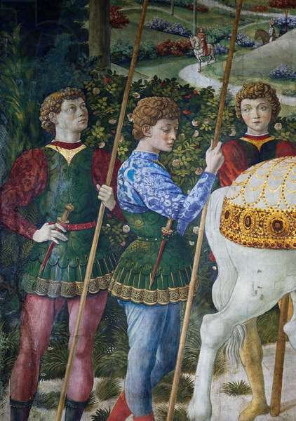 The Procession of the Magi, detail, 1459 (fresco)
