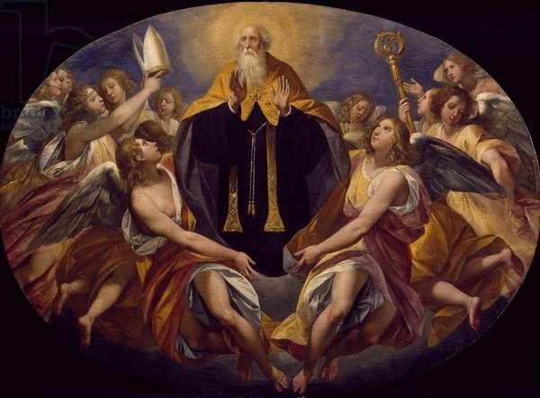 St Benedict in glory by Giuseppe Cesari (1568-1640), 1621