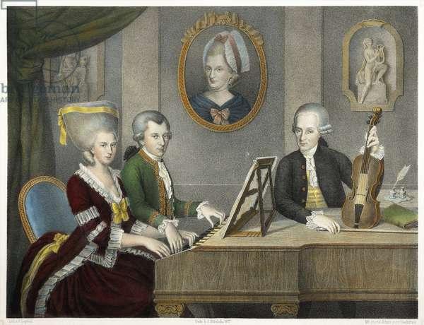 Austria, Mozart family