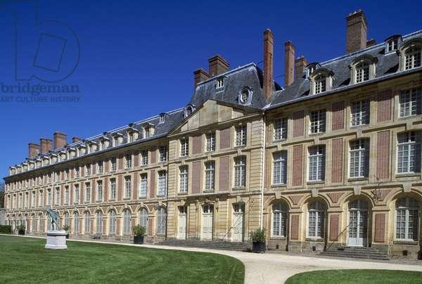 Louis XV wing, 1739-1740, Palace of Fontainebleau (UNESCO World Heritage List, 1981), Ile-de-France. Detail. France, 18th century.