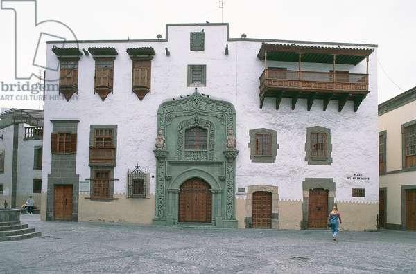 House Museum of Christopher Columbus, Vegueta district, Las Palmas, Grand Canary Island, Canary Islands, Spain