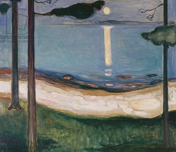 Moonlight, 1895 (oil on canvas)