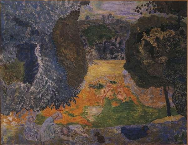 France, Babis, Summer 1917 (oil on canvas)