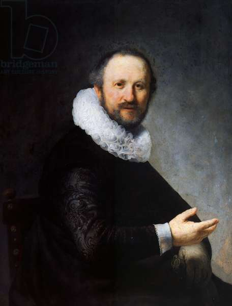 Portrait of a sitting man, 1631 (oil on panel)