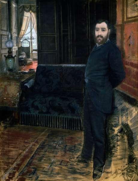 Self-Portrait, 1883 (pastel)