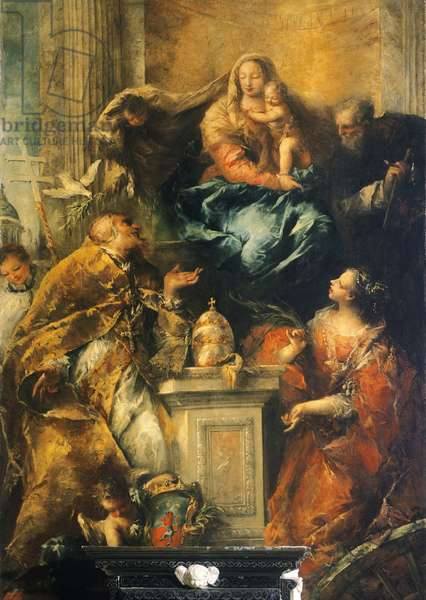 Ferri Altarpiece , c. 1755 (oil on canvas)