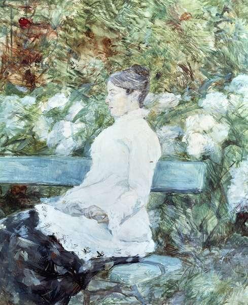 Countess Lautrec, mother of painter, by Henri de Toulouse-Lautrec (1864-1901)
