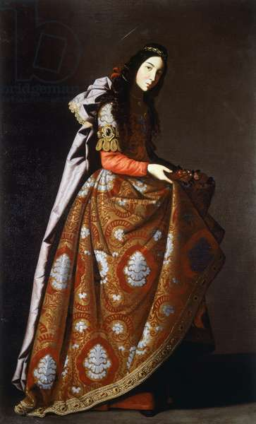 St Casilda, 1630-1635 (oil on canvas)