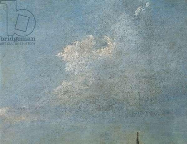 Denmark, Copenhagen, Return of the Bucintoro, clouds, close-up