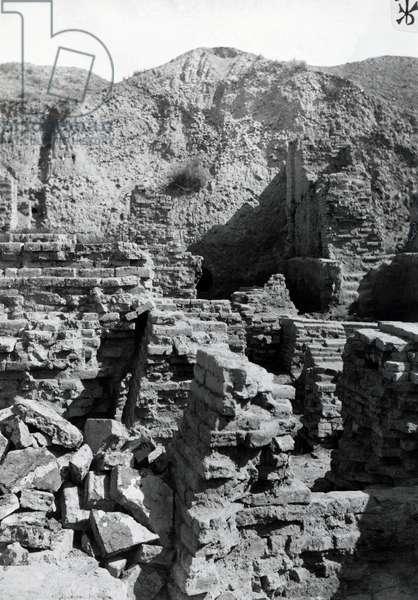 Babylon, Nabopolassar walls, Iraq, 20th century