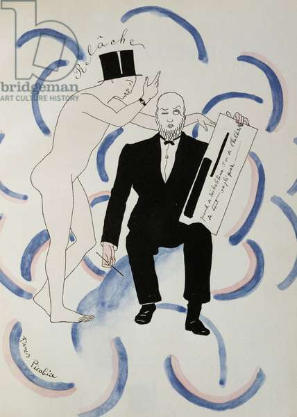 Illustration for Relache ballet by Erik Satie