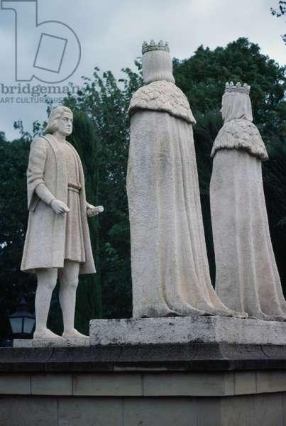 Monument to Christopher Columbus, Cordoba, Andalusia, Spain