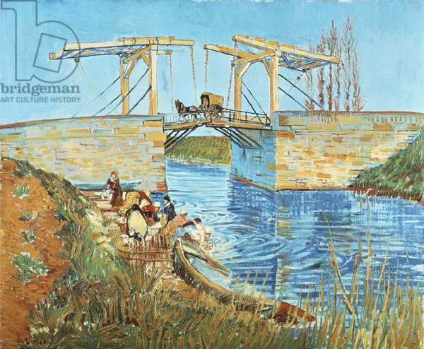 Langlois Bridge, 1888 (oil on canvas)