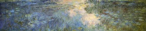 Pond of water lilies, 1917-20 (oil on canvas)