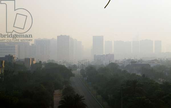 View of Abu Dhabi, United Arab Emirates