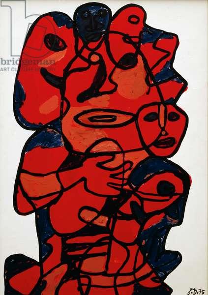 Mondanite XIII-Z96, 1975, by Jean Dubuffet (1901-1985). France, 20th century.