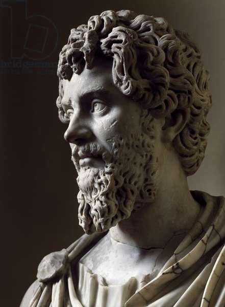 Bust of Septimius Severus, Roman Civilization, 2nd-3rd century