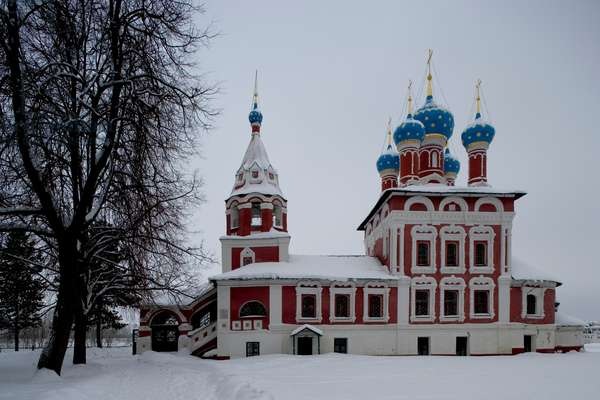 Church of St Demetrius on Blood (1690), built to commemorate assassination of Dmitrj Rurik (1582-1591), son of Ivan Terrible, Uglich, Golden Ring, Russia