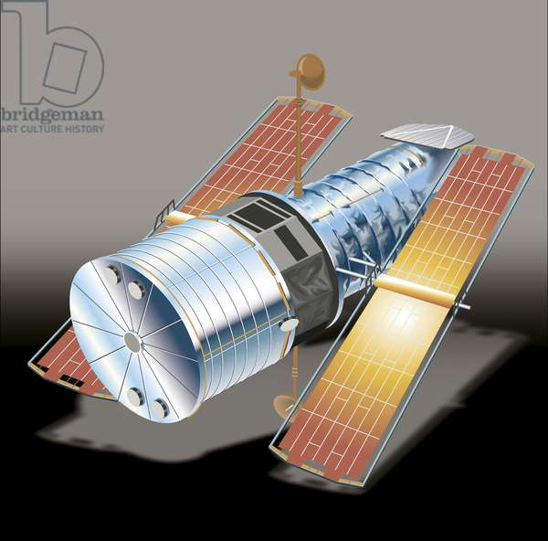 NASA launched observatory Hubble Space Telescope (HST)