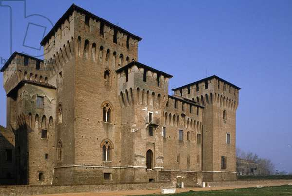 Castle of St George (1395-1406), architect Bartolino da Novara, Mantua (UNESCO World Heritage Site, 2008), Lombardy, Italy