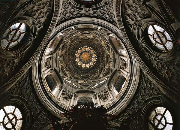 Interior of Chapel of Holy Shroud, Turin, Italy, 18th century