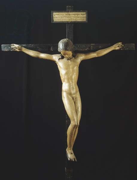 Holy Spirit Crucifix, c.1493 (polychrome wood)