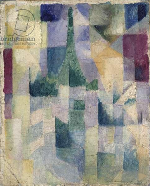 Simultaneous Windows, 1912 (oil on canvas)