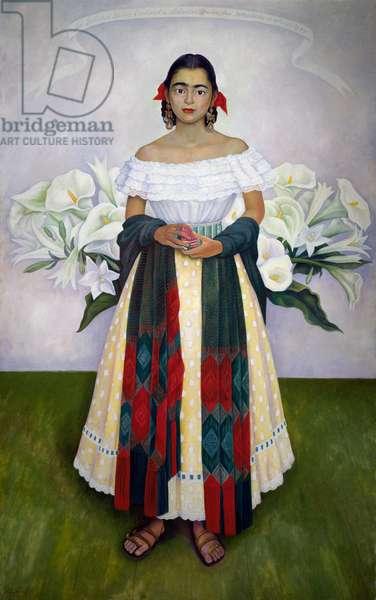 Portrait of Enriqueta Davila, 1949, by Diego Rivera (1886-1957). Mexico, 20th century.