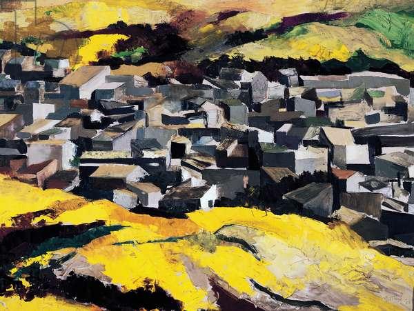 Village in the Sicilian latifundium, 1956