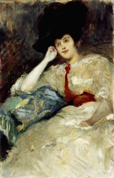 Portrait of Countess Gola, by Emilio Gola (1851-1923)
