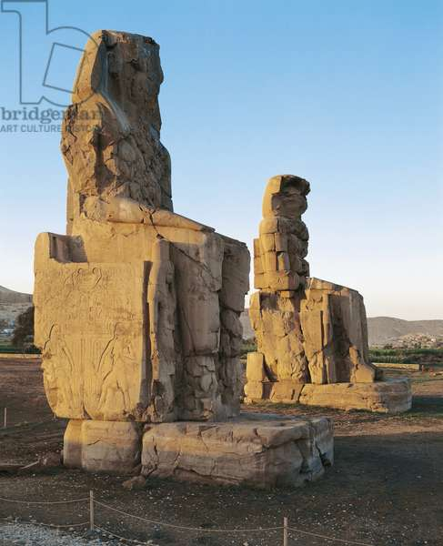 Statues of Amenhotep III 'Colossi' of Memnon