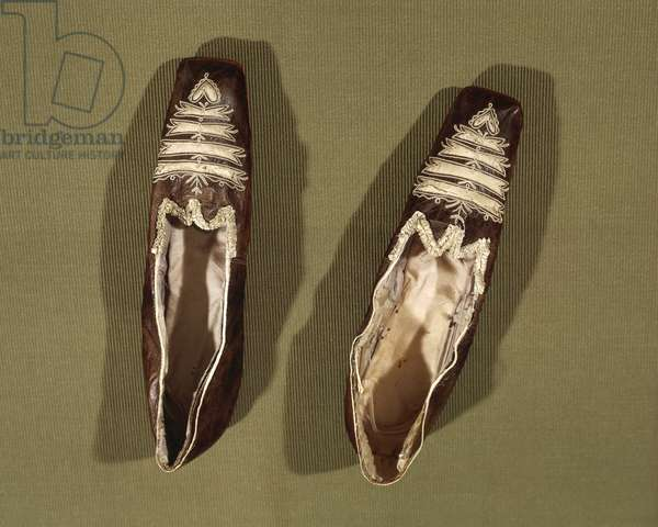 Shoes of Empress Josephine De Beauharnais (1763-1814)