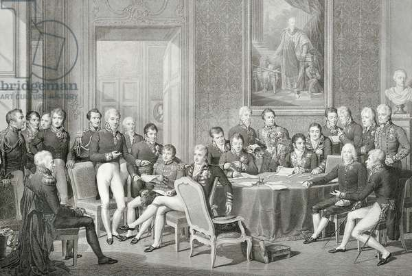Participants at the Congress of Vienna in 1814-1815