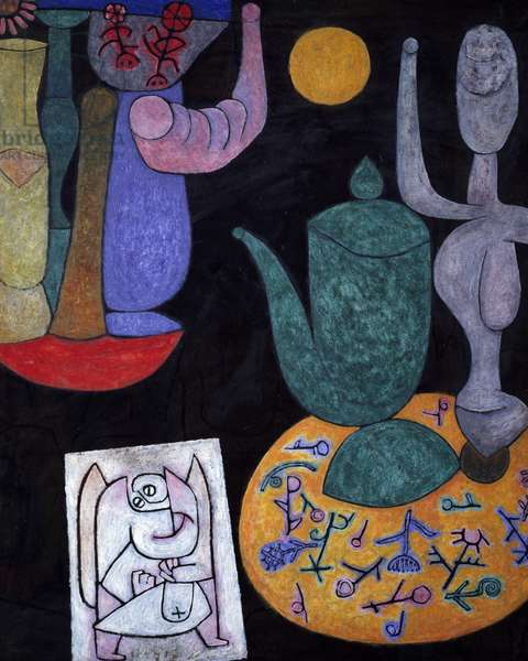 Still life by Paul Klee (1879-1940), 1940