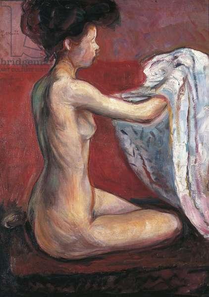 Paris Nude, 1896 (oil on canvas)