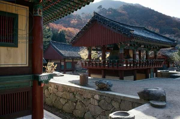 Pagoda at Bulguska Temple (Unesco World Heritage List, 1995), Kyongju, South Korea, 8th century