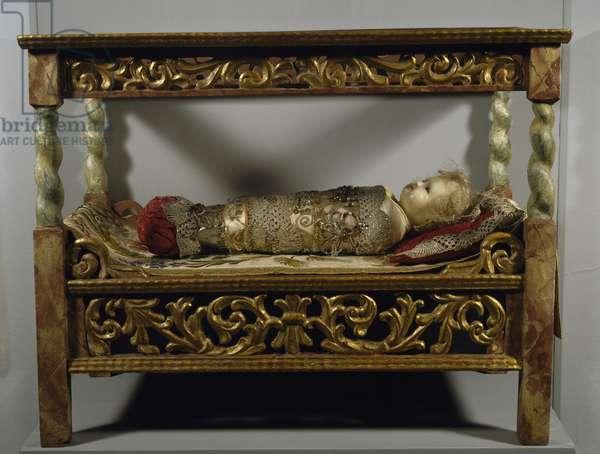 Cradle with infant Jesus, Austria, 18th century