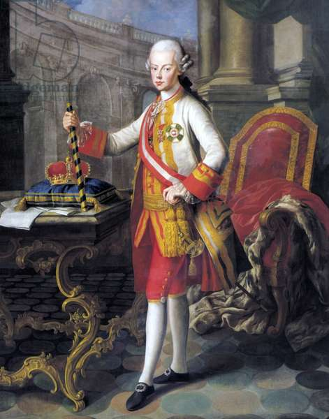 Portrait of Leopold II, Holy Roman Emperor, by unknown artist, painting