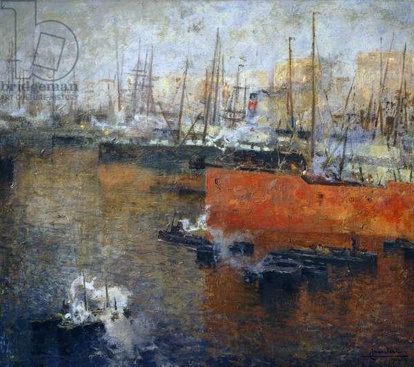 Seaport, by Lodovico Caveleri