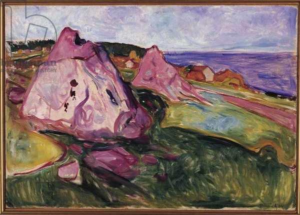 Landscape, Violet Rocks, 1904 (oil on canvas)