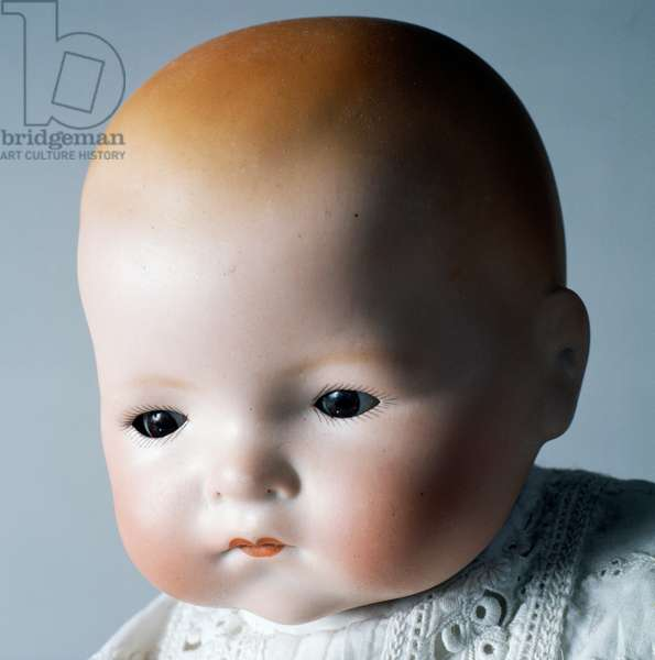 My Dream by, Baby doll No 341/4k, bisque doll made by Armand Marseille, 1926, Germany, 20th century, detail